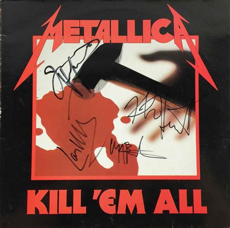skeet ulrich authentic signed details magazine cover psa dna j00183 at s entertainment lot detail metallica signed quot kill em all quot record album cover with cliff burton psa dna