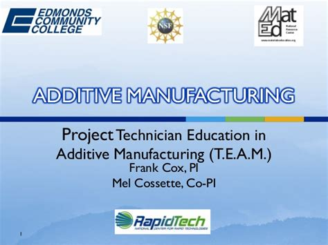 design for additive manufacturing training additive manufacturing