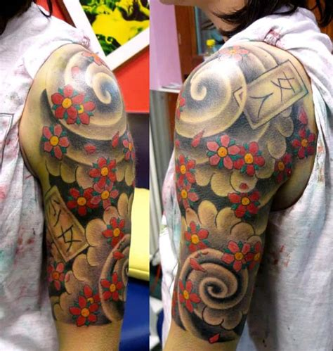 japanese art tattoo sleeve designs 20 modern japanese designs images sheideas