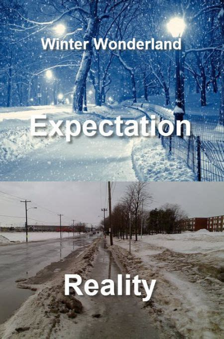 expectations  reality   funcage