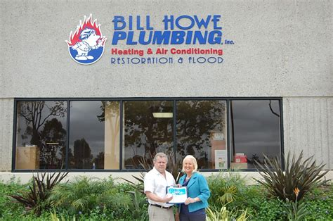 Plumbing Companies San Diego by Bill Howe S It Executive Wins Quot It Of The Year Quot