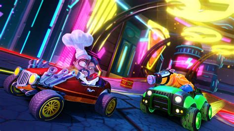 crash team racing nitro fueled details character types