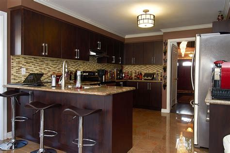 brown kitchen cabinets brown kitchen cabinets modification for a stunning kitchen