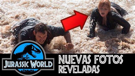nuevas imagenes jurassic world nuevas fotos filtradas de jurassic world 2 fallen