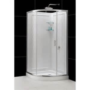 dreamline 33 in x 33 in x 76 3 4 in sliding shower