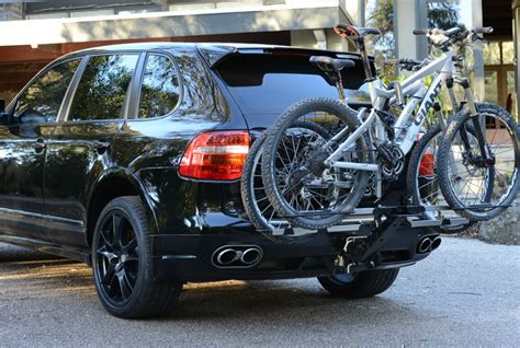 Bike Rack For Porsche Cayenne isi advanced 4x4 bicycle carrier and bike rack systems porsche cayenne 4x4 bicycle carrier