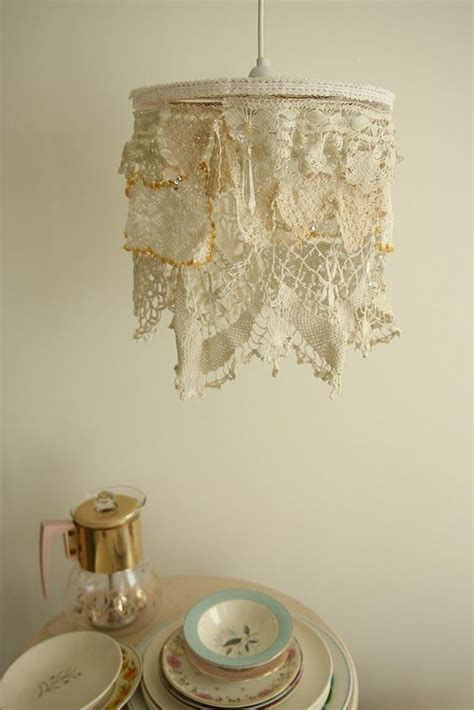 Doily Chandelier 68 Best Chandeliers Images On Pinterest