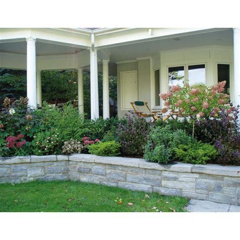 raised garden around front porch yard pinterest