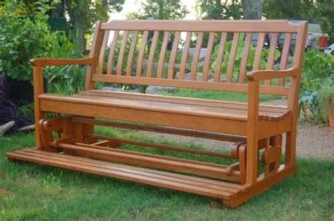 wooden loveseat swing porch swing glider swinging bench patio sofa 5 settee
