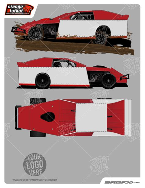 race car graphic design templates 2014 dynamic dirt modified template school of racing
