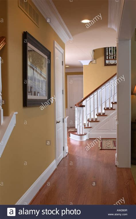 home interior usa hallway and stairs house home interior usa stock photo royalty free image 16440934 alamy