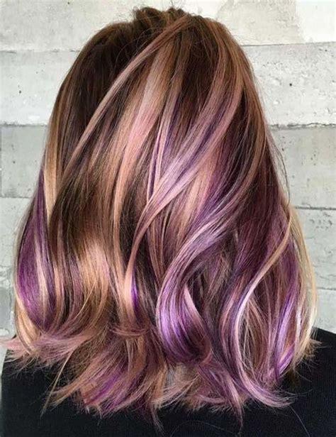thin highlights vs chunky highlights purple thin blonde highlight modren villa
