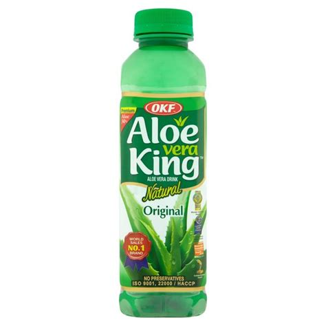 Would You Drink This Aloe Juice by Morrisons Okf Aloe Vera Juice Drink 500ml Product