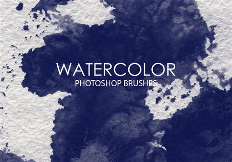 watercolor pattern photoshop free free watercolor wash photoshop brushes 7 free photoshop