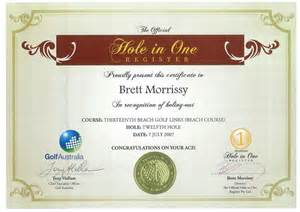 hole in one certificate template wolgegarosua45 blogcu com