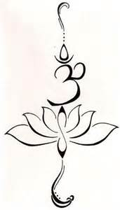 Lotus Flower With Om Symbol 25 Best Ideas About Symbols Of Strength On
