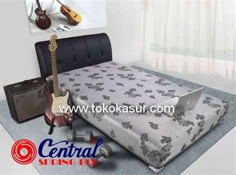 Kasur Central Uk 160x200 bed central central springbed harga central central deluxe central sport