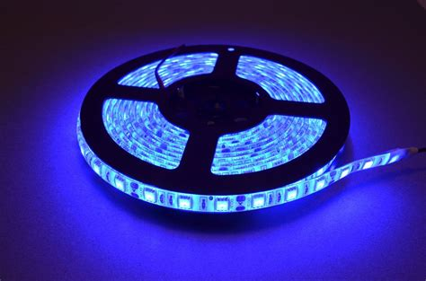 Blue Led Lights Strips Blue Led Light 5 Meter Roll Bc Robotics