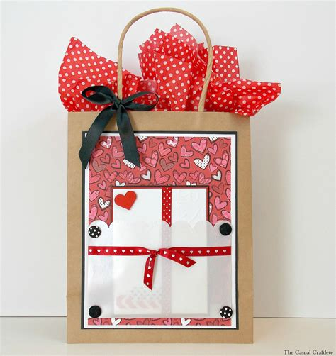 4 valentines gift wrap ideas purely katie - Card Gift Bags
