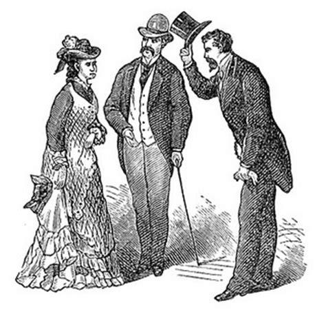 victorian etiquettes  manners  men  women