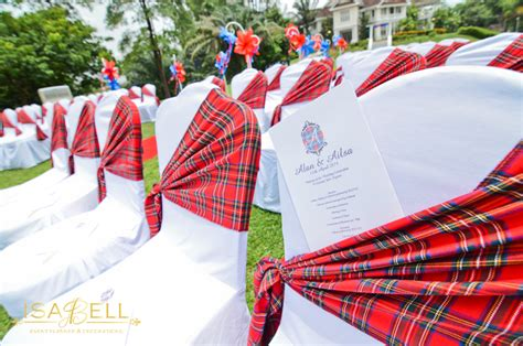 How To Set A Dining Room Table scottish themed wedding at carcosa seri negara kl