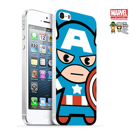 Thor Marvel Y0915 Iphone 5 5s Se Casing Custom Hardcase marvel official licensed product iphone 5 mobile