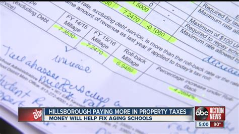 Hillsborough Property Tax Records Hillsborough County Residents May Soon Be Paying More In Property Taxes