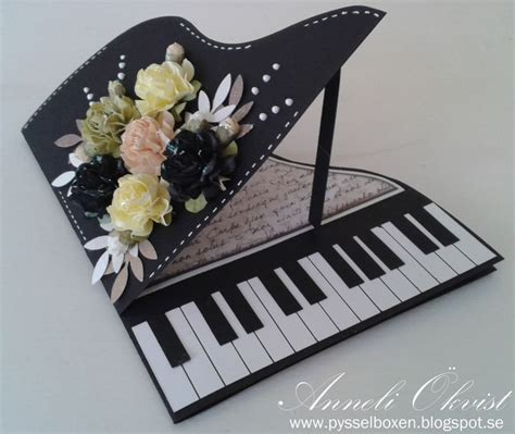 piano greeting card templates 1000 ideas about centerpieces on