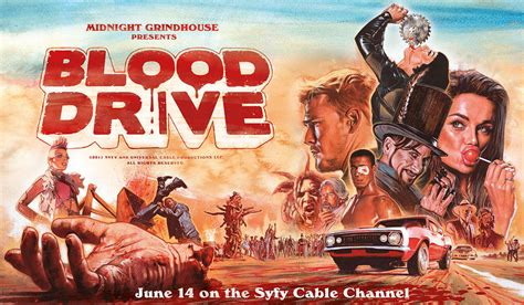 dive shows blood drive tv series 2017 horrorpedia