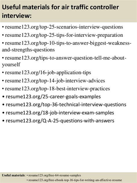 air traffic controller resume sle top 8 air traffic controller resume sles
