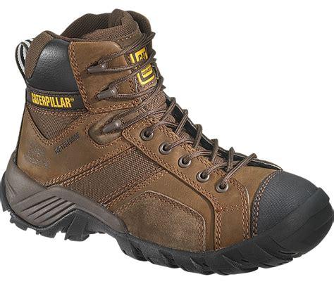 Sepatu Pria Caterpillar Argon Safety Brown Made In Asli Import 10 jual sepatu safety caterpillar argon hi ct waterproof