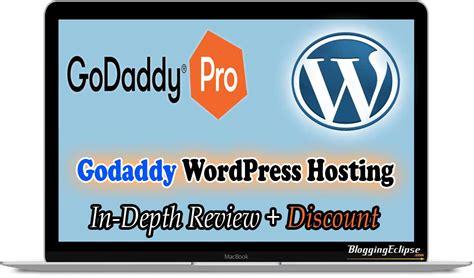 Godaddy Blog Hosting Review