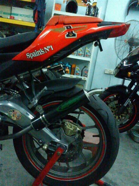 Jual Aprilia Rs125 2011 aprilia rs125 09 wit jolly moto exhaust c0107