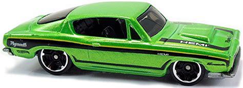 Hotwheels 68 Plymouth Hemi Cuda plymouth hemi cuda 76mm 2006 wheels newsletter