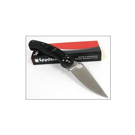 spyderco made in usa spyderco model plain edge acier cpm s30v