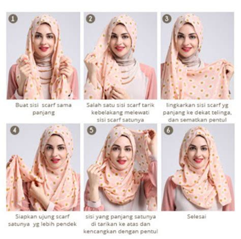 tutorial hijab pashmina satin yang simple 25 inspirasi tutorial hijab pashmina simple terbaru 2018