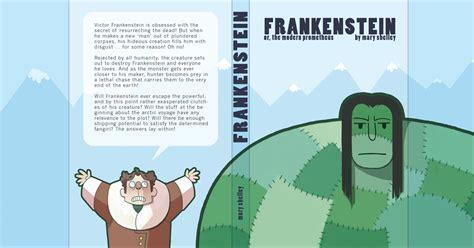 frankenstein book report frankenstein book jacket by otherwise on deviantart