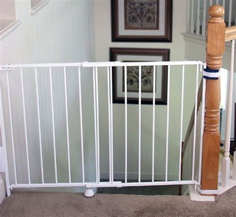 swinging baby gates for top of stairs baby gates for stairs webnuggetzcom swinging baby gates