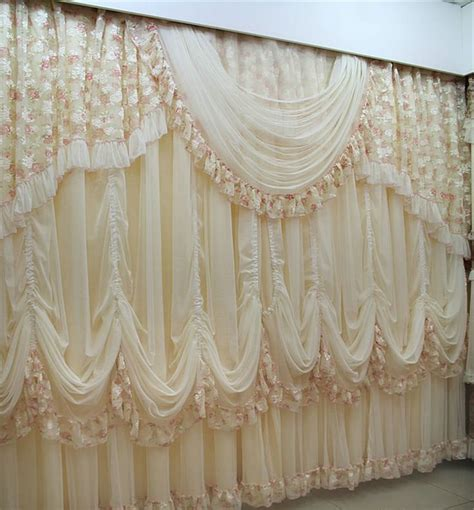 french lace curtains window drapes jacquard drapery design custom made lace