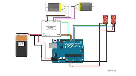 arduino robot wiring diagram k grayengineeringeducation