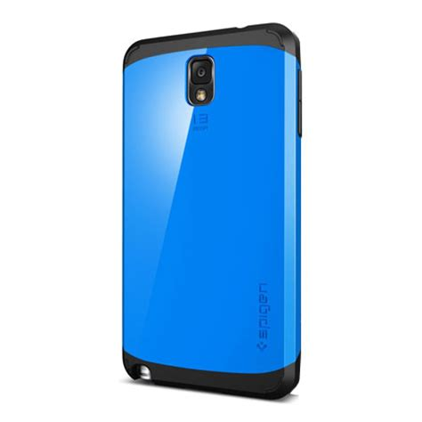 Hardcase Spigen Slimarmor For Samsung Galaxy Note 3 N900 T1910 2 spigen slim armor for samsung galaxy note 3 dodger blue