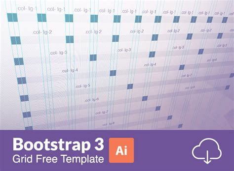 bootstrap templates for illustrator 20 free bootstrap grid systems psd templates