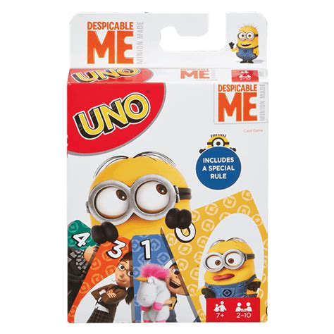 Uno Gift Card Balance - despicable me minions uno card game zing pop culture