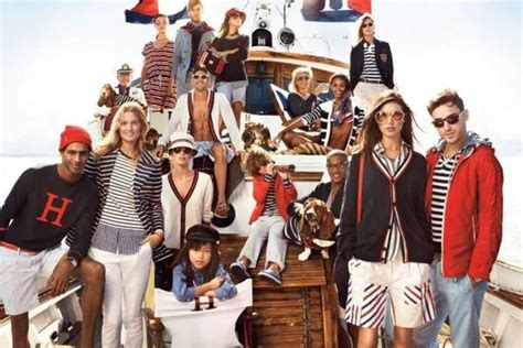 tommy hilfiger ad caign striped nautical caigns tommy hilfiger spring summer