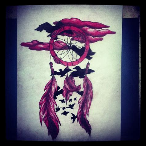 dreamcatcher tattoo designs with birds dream catcher and birds by melllyxd on deviantart