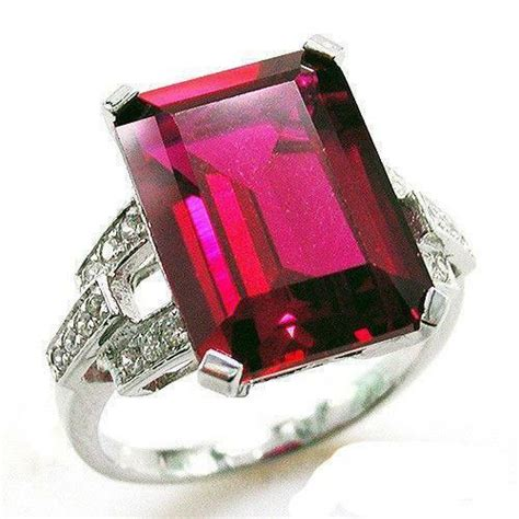 2 2 Ct Ruby Top Blood pigeon blood ruby ring ebay