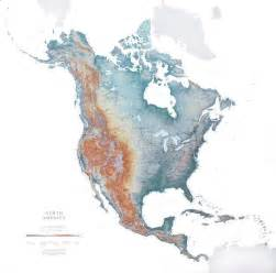 Map Of Nort America by North America Continent Wall Map Raven Maps Laminated