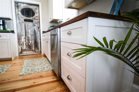 White Kitchen Cabinets Photos full overlay shaker with dove white finish and matching