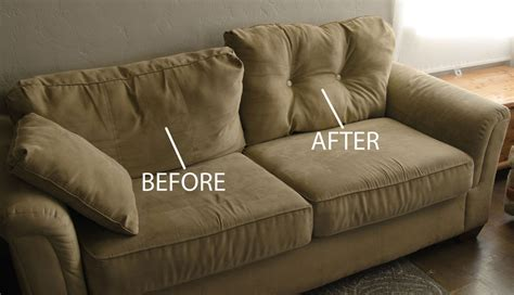 how to make your sofa firmer 28 ways to bring new life to an old sofa remodelaholic