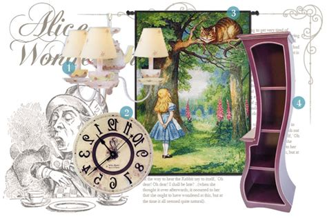 alice in wonderland home decor alice in wonderland inspired home d 233 cor